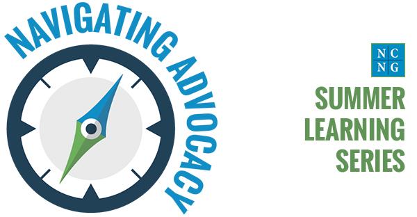Navigating Advocacy event logo
