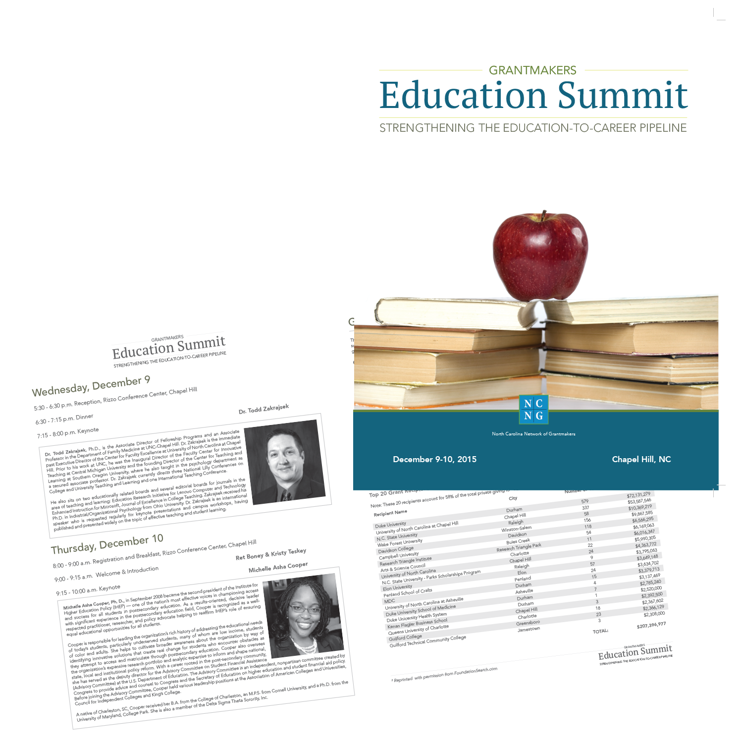 NC Grantmakers Education Summit Programs