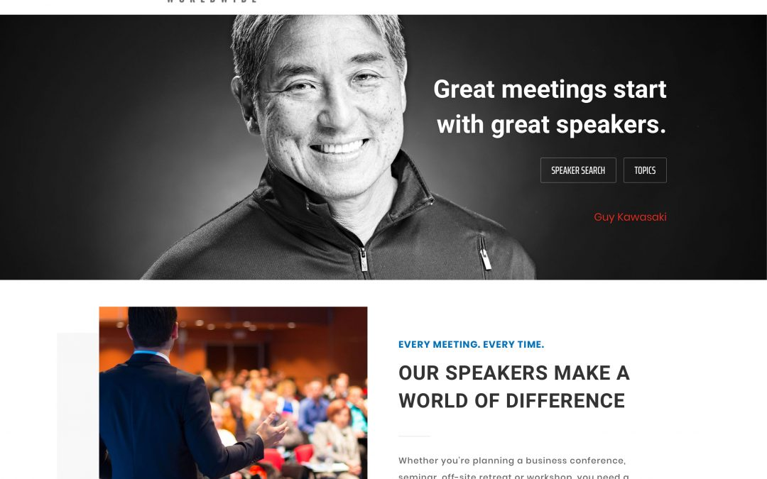 Speaking Engagement Site