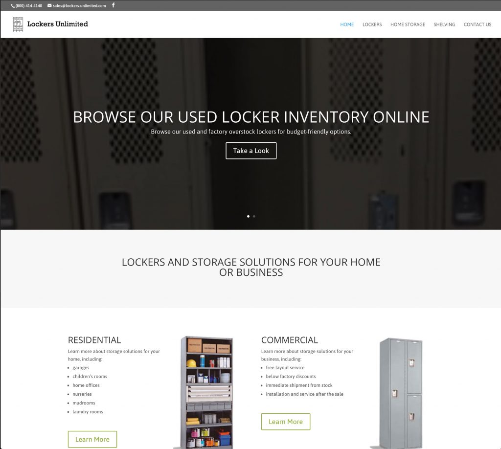 Lockers Unlimited refresh