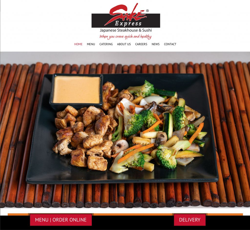hibachi restaurant website