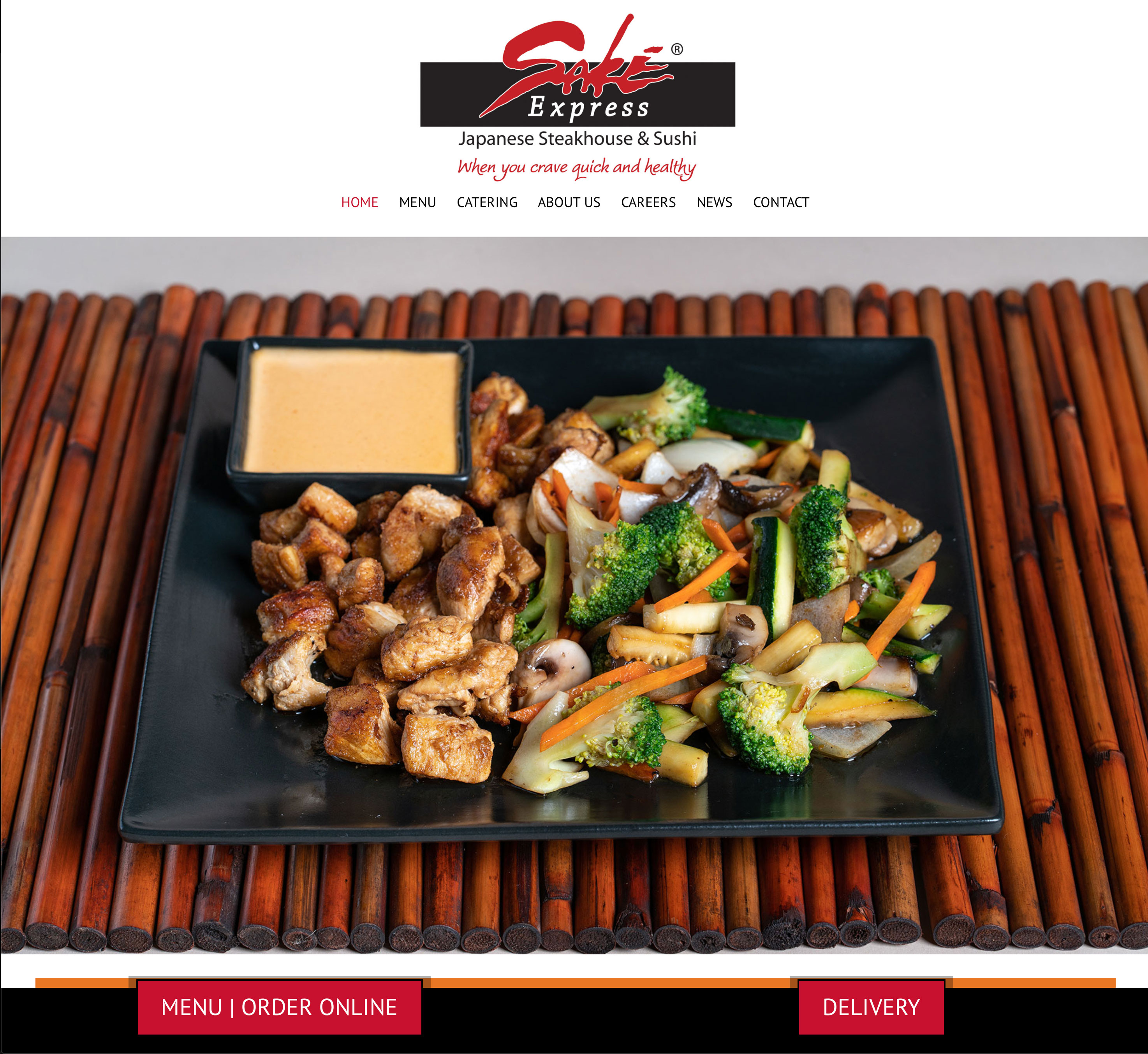 hibachi restaurant website